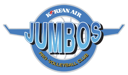 Incheon Korean Air Jumbos Volleyball Logo