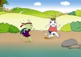 """The Rabbit & The Turtle"" Traditional Korean Story plus Free Worksheet 2"