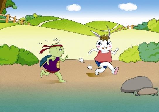 rabbit and turtle korean story