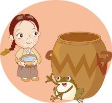 Kongji and Patzzi Tradtional Korean Story