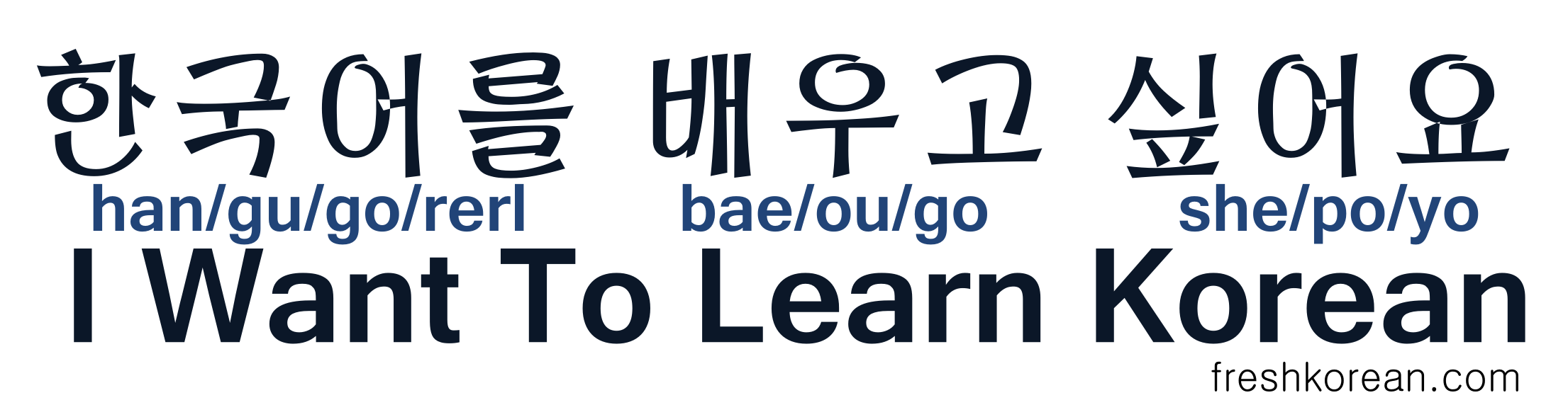 Unit 0: Learn How to Read Hangul - How to study Korean