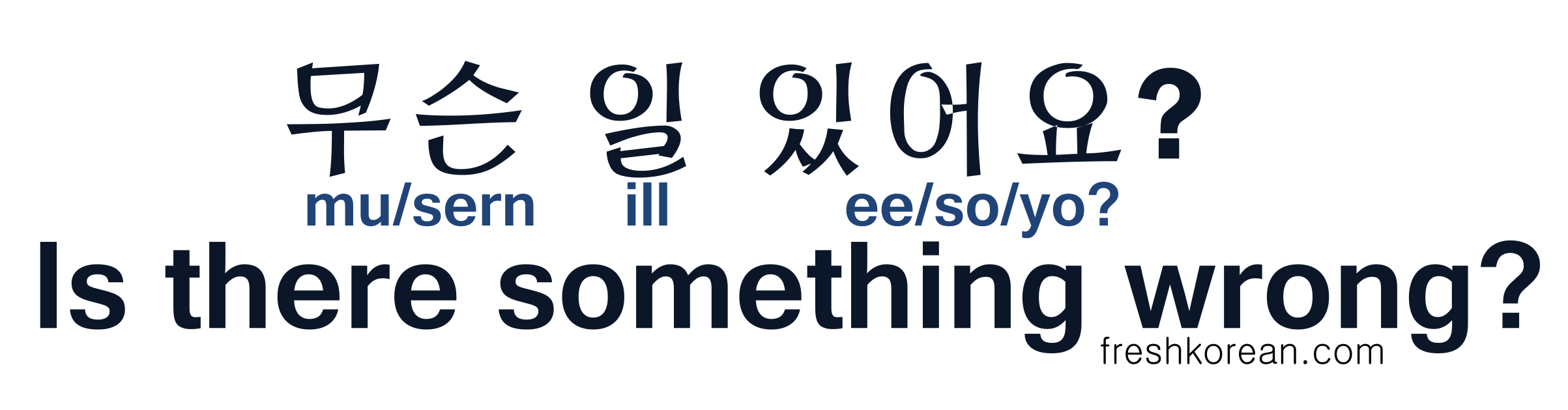 Everyday Korean Phrases Fresh Korean