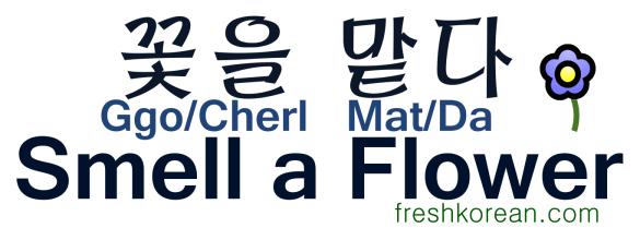 Smell a Flower - Fresh Korean