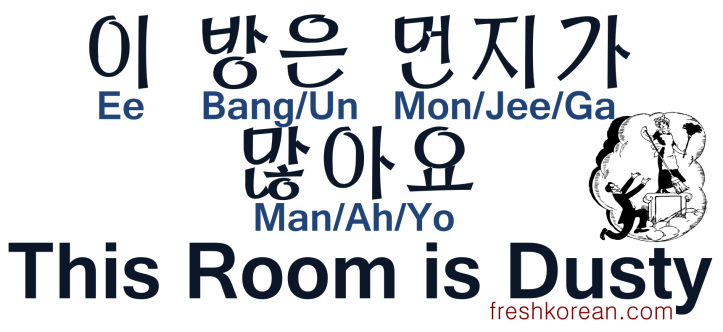 This Room is Dusty - Fresh Korean