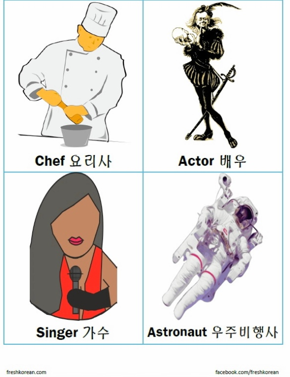 Jobs in Korean Flashcards 2