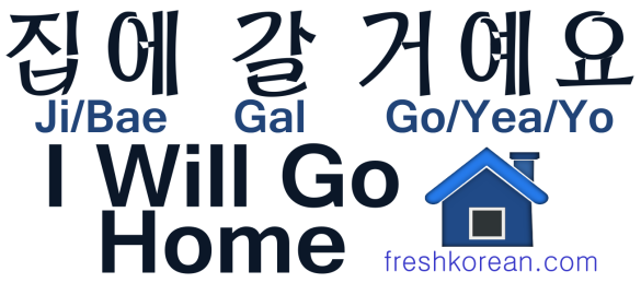 I Will Go Home - Fresh Korean