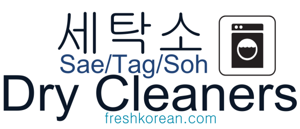 Dry Cleaners - Fresh Korean Phrase Card