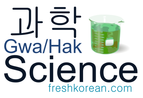 Science- Fresh Korean Phrase Card
