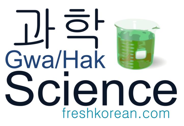 Science- Fresh Korean Phrase Card