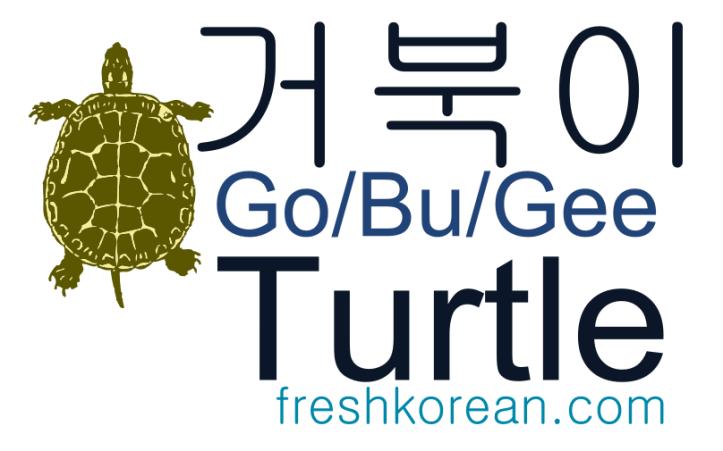 Turtle - Fresh Korean Phrase Card