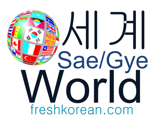World - Fresh Korean Phrase Card