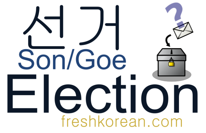 Election - Fresh Korean Phrase Card