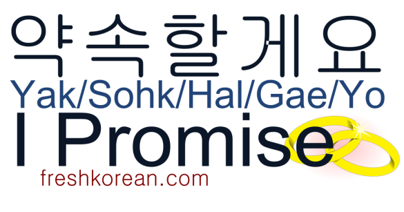 vi promose - Fresh Korean Phrase Card
