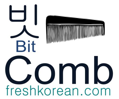 comb - Fresh Korean Phrase