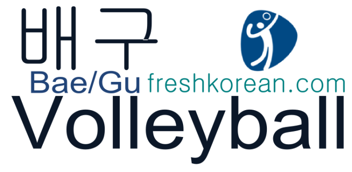 Volleyball - Fresh Korean Phrase