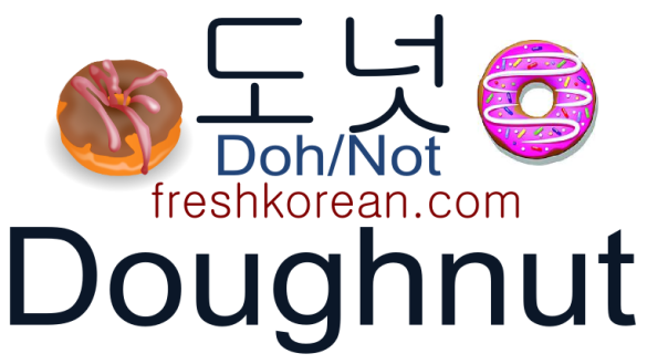 doughnut-fresh-korean-phrase