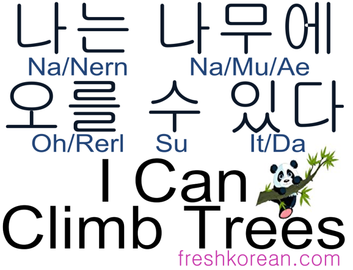 i-can-climb-trees-fresh-korean-phrase