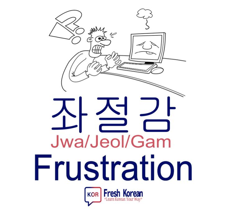 frustration - Fresh Korean Phrase